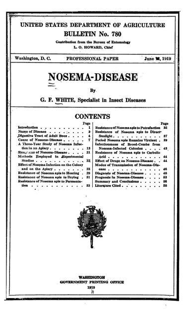 Nosema-disease