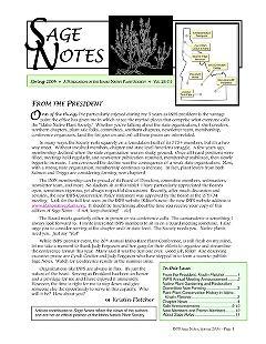 Sage notes : Idaho Native Plant Society newsletter