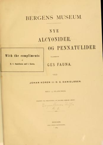 Bergens Museums skrifter